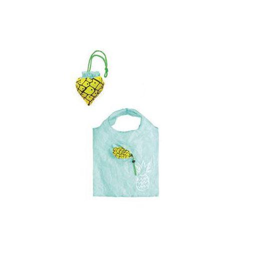 Összehajtható gyümölcs mintájú szatyor - ananász