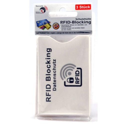RFID blokkoló bankkártya tok - 3 db-os szett