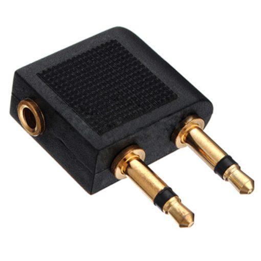 Fejhallgató adapter repülőgépekhez - 3,5 mm (jack)