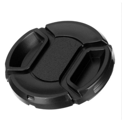 Objektív sapka, kényelmes, kétujjas - 55 mm