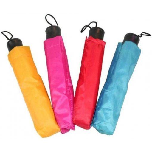 Manuális mini esernyő tokkal - Lila